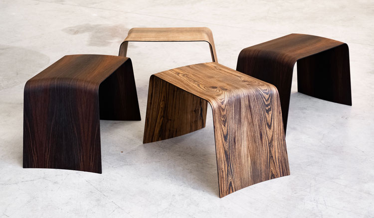 piano-forte is a bespoke of operaskis gallizia design and arte9milano, a furniture made in wood evolution